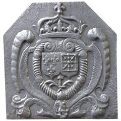 17th Century French 'Arms of France and Navarre' Fireback