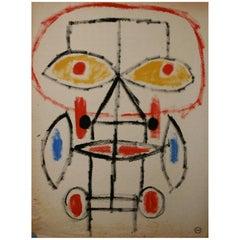 Albert Chubac '1925-2008', Gouache, Signed, circa 1960, France