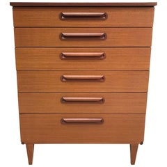 Midcentury Teak Chest of Drawers