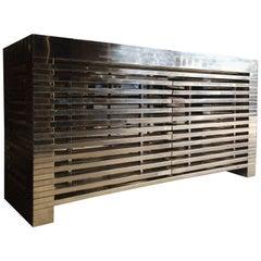 Timothy Oulton Zazenne Steel Sideboard Credenza Large RRP £6273