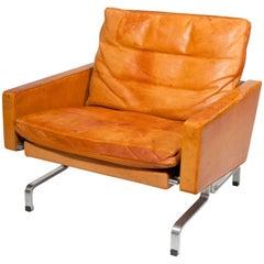 Poul Kjaerholm, Leather Chair, Pk31/1, Executed by E. Kold Christensen