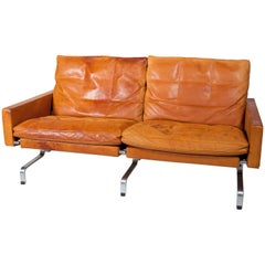 Poul Kjaerholm, Leather Sofa, Executed by E. Kold Christensen, circa 1958