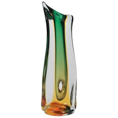 1950s Murano Big Glass Vase by Seguso