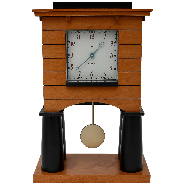 Postmodern Mantle Clock for Alessi