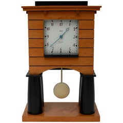 Michael Grave Postmodern Mantle Clock for Alessi