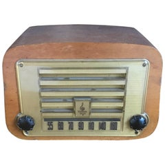Early Charles and Ray Eames Plywood Evans Emerson Radio