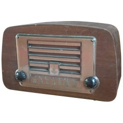 Early Charles and Ray Eames Evans Plywood Emerson Radio