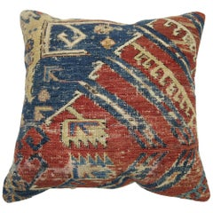 Antique Tribal Rug Pillow