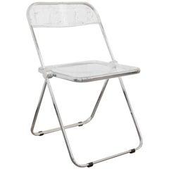 """Giancarlo Piretti """"Plia"""" Chairs for Castelli"""