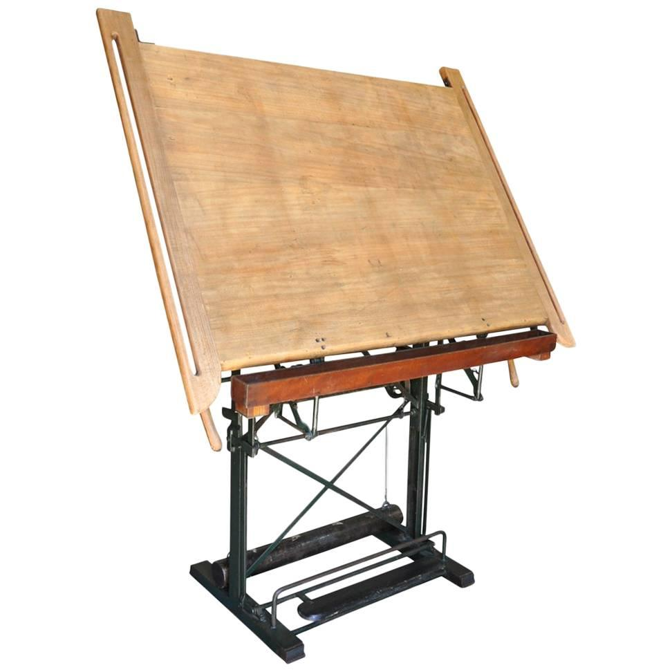Etonnant French Drafting Table, Architectu0027s Table For Sale