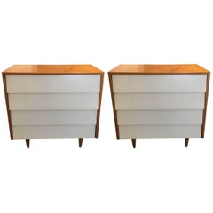 Florence Knoll Pair of Dressers or Chests, 1950