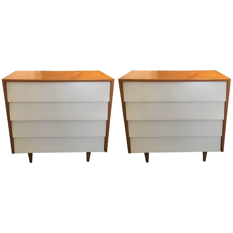 Florence Knoll Pair of Dressers or Chests, 1950 1