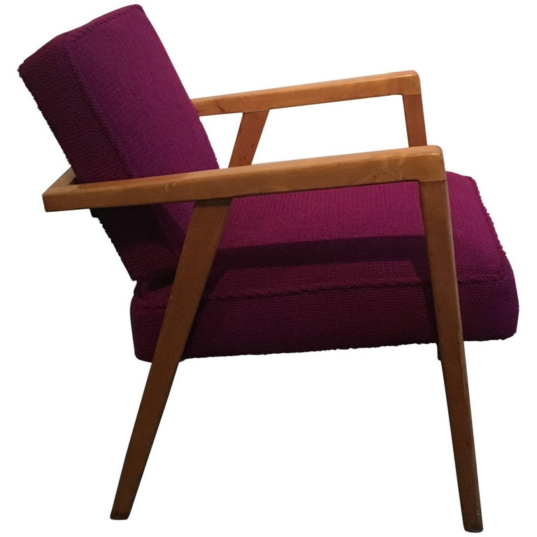 Early Franco Albini Lounge Chair for Knoll For Sale