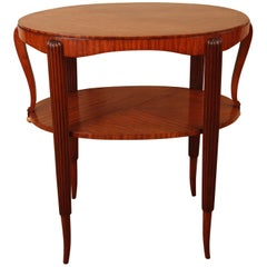 French 1920s Art Deco Side Table