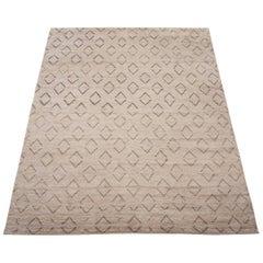 Moroccan Diamond Design Area Rug