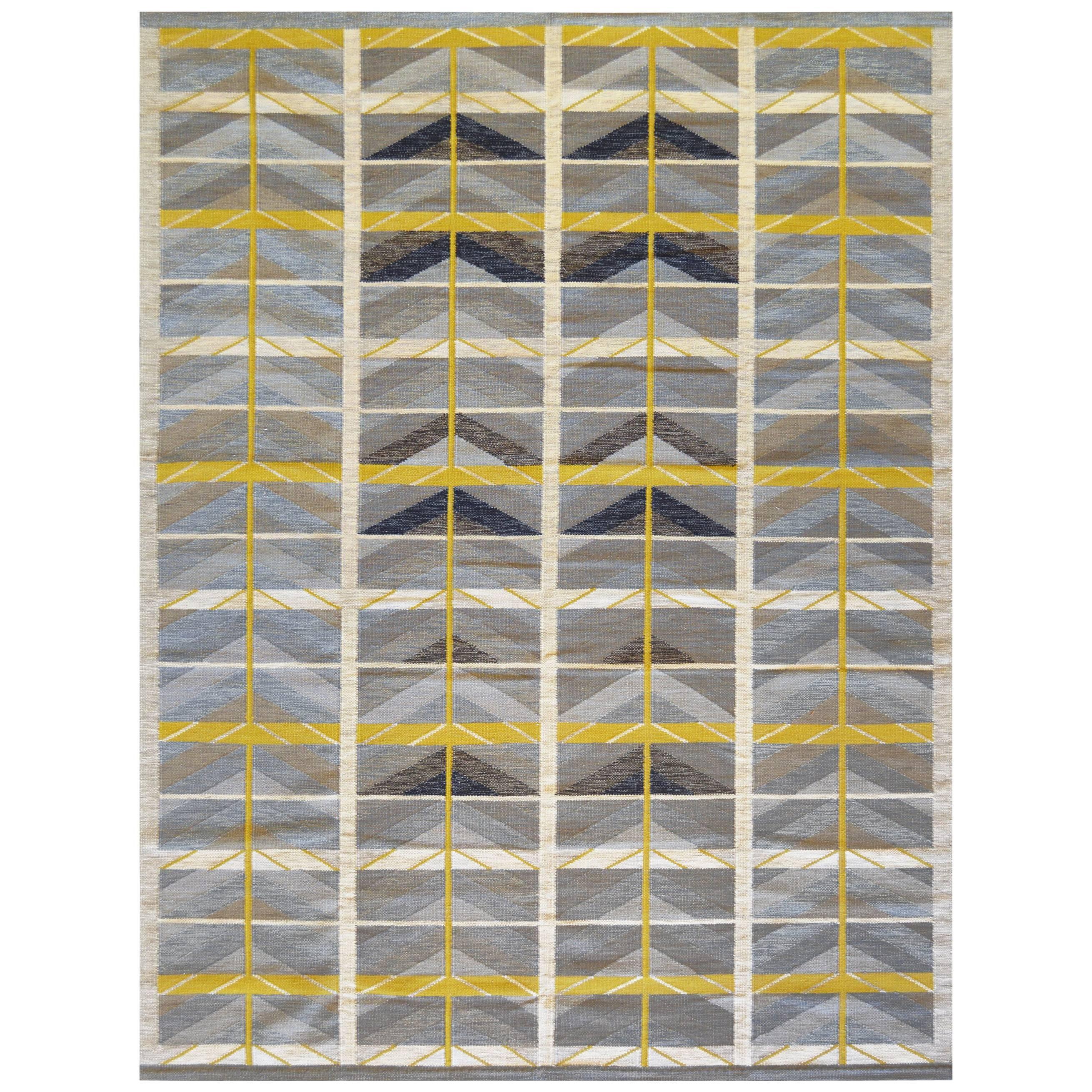 Swedish Flat Weave Rug