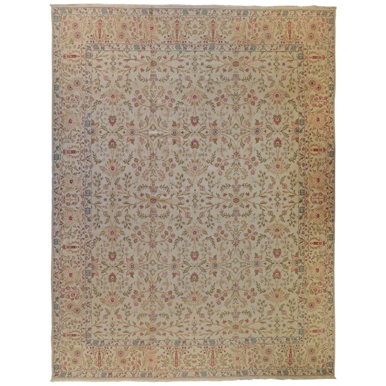 Western Inspired Rugs: French Inspired Country Rug For Sale At 1stdibs
