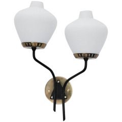 Double Shade Stilnovo Sconce