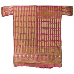 Masterpiece Complete Chimu Shirt with Feathered Motif
