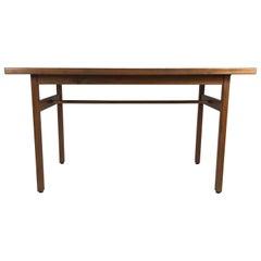 Classic Modernist Table or Desk Designed by Jens Risom
