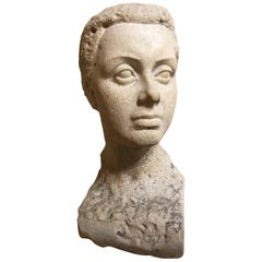 Woman Stone Bust