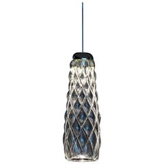 "Fontana Arte ""Pinecone"" Blown Glass Pendant Lamp Designed by Paola Navone"