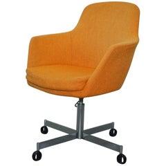 Original 1960s Mid-Century Modern Ryman Conran Manufacturing Office Chair