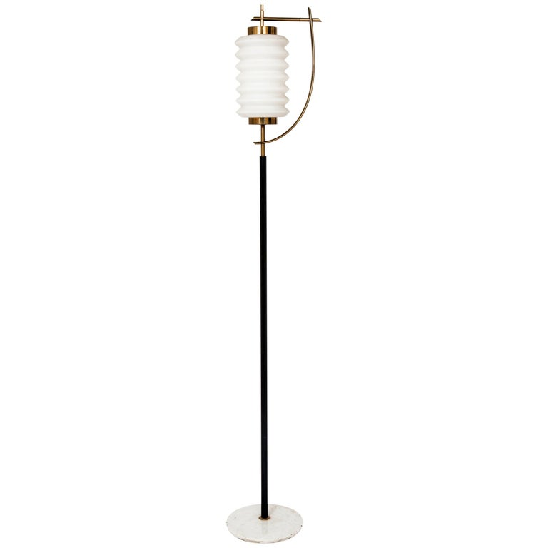 Rare Standing Lamp by Angelo Lelii For Sale