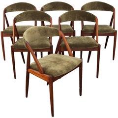Set of Six Danish Kai Kristiansen Dining Chairs