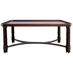 Mahogany Coffee Table by Madeleine Castaing, 1960s