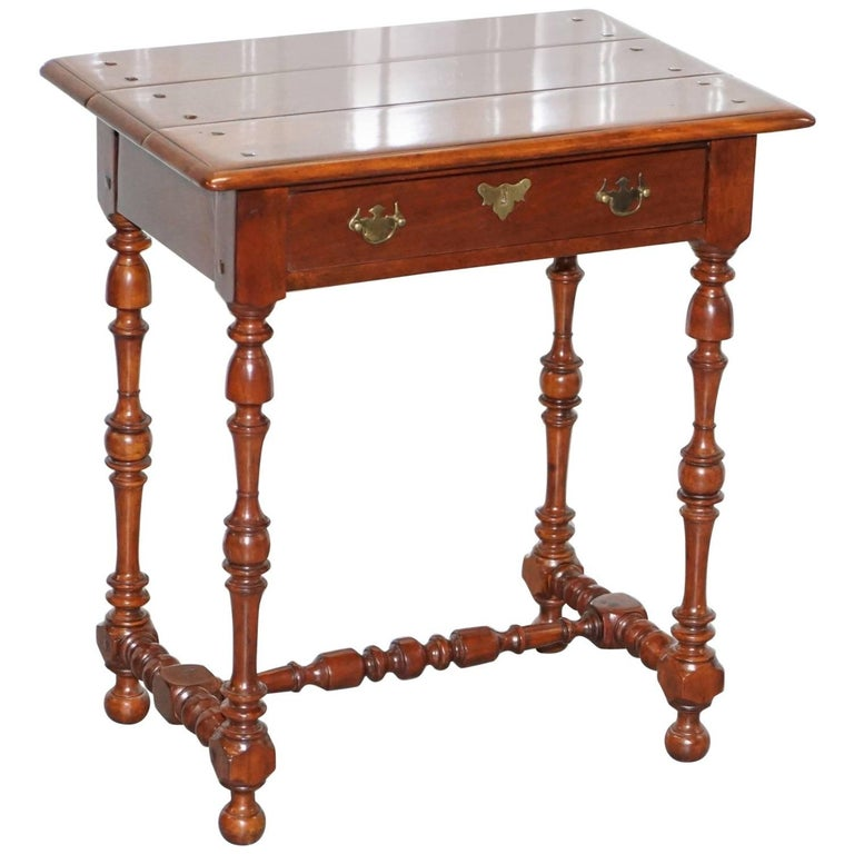 Stunning Theodore Alexander Accent Butlers Large Side Lamp Wine Table