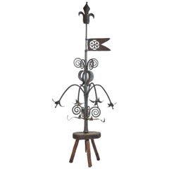 Wrought Iron Weathervane, 18th Century