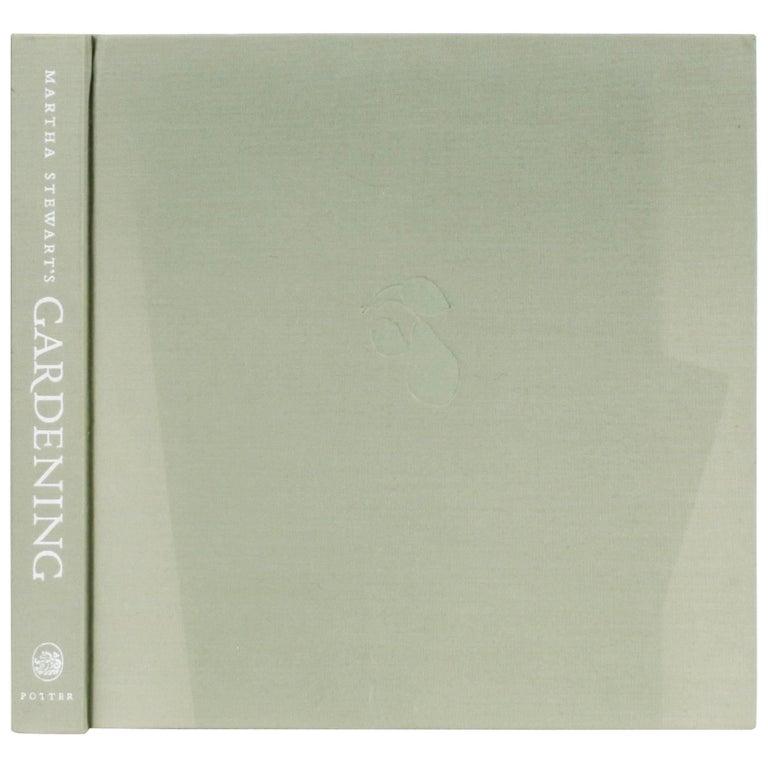 """""""Martha Stewart's Gardening"""" First Edition Book"""