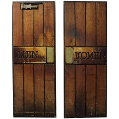 Vintage Ship Wooden Doors
