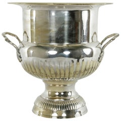 Very Large Mid-20th Century French Silver Plate Hotel Champagne Bucket