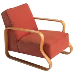 Model 44 Lounge Chair by Alvar Aalto, circa 1930