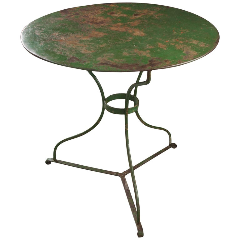 French 19th Century Painted Garden Table
