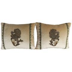 Custom Applique Pillows by Melissa Levinson