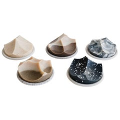 Hand-Poured Soap, Erode Series, Set of Five by UMÉ Studio
