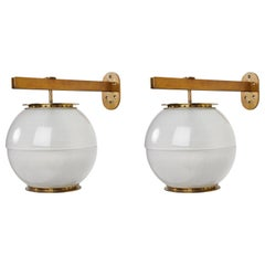 Pair of Lp7 Sconces by Ignazio Gardella for Azucena