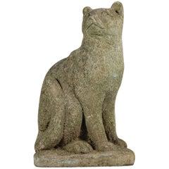 20th Century Weather Pussy Cat Garden Statue