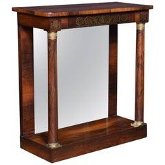 Regency Ormolu-Mounted Rosewood Pier Table