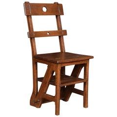 Oak Metamorphic Chair