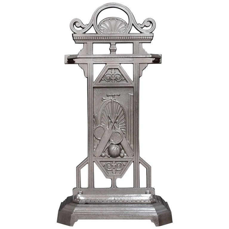 19th Century Cast Iron Stick Umbrella Stand