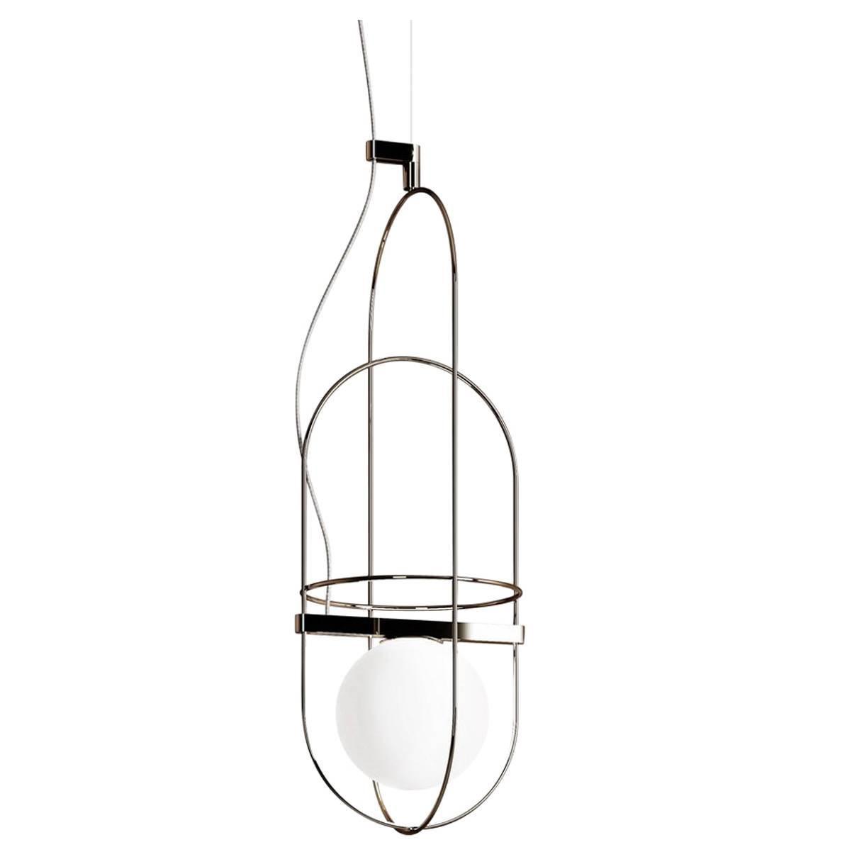 "Fontana Arte ""Setareh"" Large Pendant Lamp Designed by Francesco Librizzi"