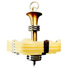 Classic American Art Deco Chandelier