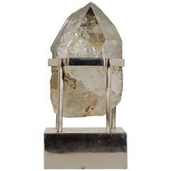 Unique Carla Venosta, 1970s Rock Crystal Table Sculpture