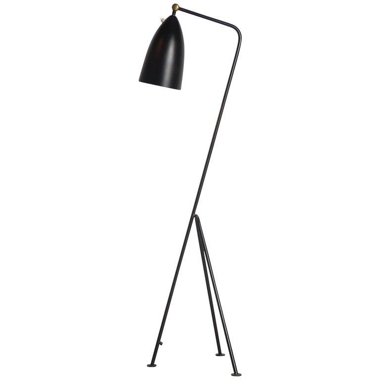 Greta Magnusson Grossman Grasshopper Lamp for Bergboms, Labelled by Maker For Sale