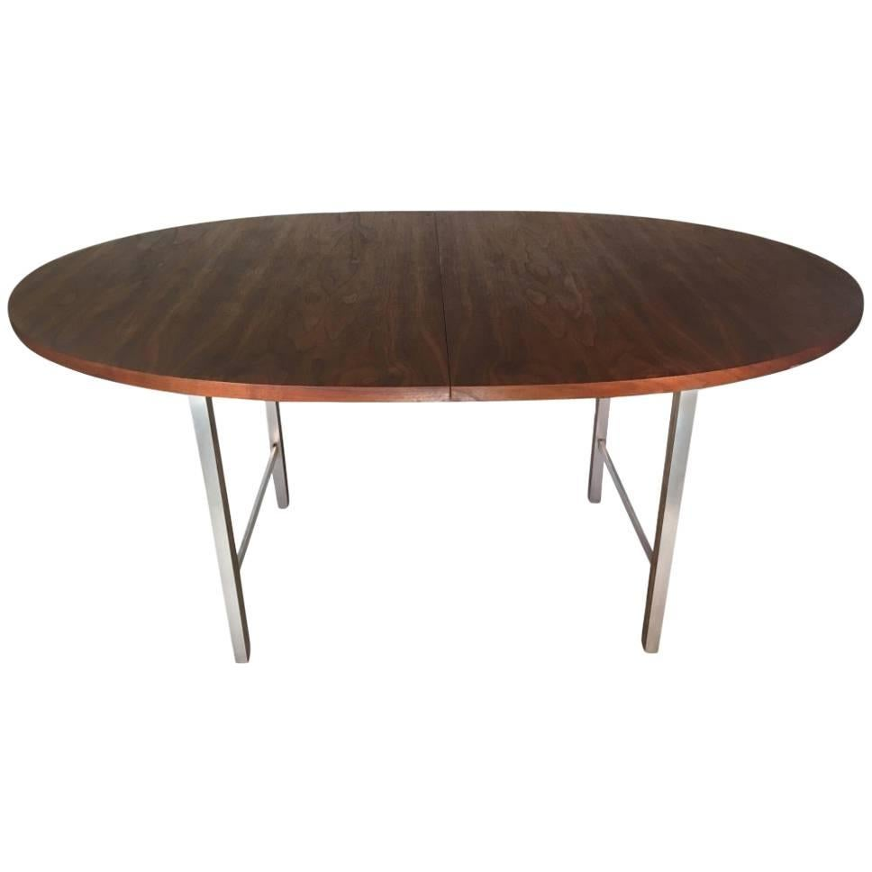 Paul McCobb Irwin Collection For Calvin Furniture Walnut Dining Table