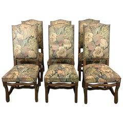 20th Century Six Os De Mouton Oak Chair